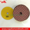 7 Step Dry Polishing Concrete를 가진 각 Grinder Polishing Pads