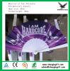 Impression colorée pliant le ventilateur en plastique de main en tant que cadeau promotionnel