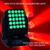 Stage professionale Light 25X10-Watt RGBW Quad Color LED Moving Head