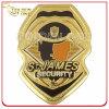 Kundenspezifisches Kupfer gestempeltes Goldende-Militär-Emblem