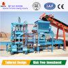 El bloque automático que hace la máquina, cementa la cadena de producción concreta del ladrillo