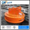 Tipo circular imán de elevación del excavador para los desechos de elevación con el ciclo de deber del 75% Emw-150L/1-75