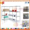 Stand réglable d'étagère de fil de coin de maison et de bureau (Zhw29)