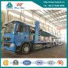 Sinotruk HOWO T5g 8X4 센터 차축 수출용 자동차 운반선 트럭 371HP