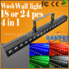 18/24PCS 4 in 1 Indoor LED Wall Wash Light