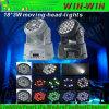 18 Mini-LED bewegliche Hauptstadiums-Lichter x-3W für Nachtpartei-Erscheinen