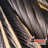Fabricant utilisé galvanisé de corde de fil d'acier/de corde fil d'acier