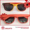 2016 lunettes de soleil neuves de mode avec la fleur de deux couleurs pour Madame