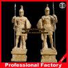 Guerreros antiguos Estatua de mármol de talla de piedra escultura de mármol Escultura Escultura Itlian hotel