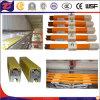 Carril de aluminio de Condutor del solo de poste de la seguridad cobre del aislamiento