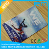 Cartão plástico do empregado ID/IC com impressão de cor quatro