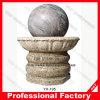 Fontaine tournante de sphère de roulement de granit en pierre
