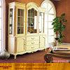 Armário de armazenamento branco do escritório da madeira contínua (XS9-052)
