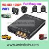 Vehiclesのための4チャネルHD 1080P Mobile DVR、GPS Trackingの、WiFi、3G、4G Option