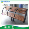 Metal Legs와 Wood Plastic Composite Slats Seating (FY-005X)를 가진 나무로 되는 Bench