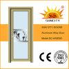 最も安いシャワー室のアルミニウムガラスドア(SC-AAD093)