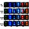 Toyota Push Switch Zombie Lights Symbol - White /Blue/Orange/Green/Red LED