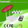 4CH 1.3MP/2MP WiFi IP-Kamera und NVR Radioapparat-Installationssatz