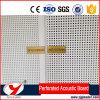 Звукоизоляционная плита волокна строительного материала Perforated