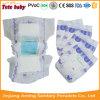 PET Film-Baby-Windel mit magisches Band-mittleres Qualitätsökonomisches Baby-Wegwerfwindeln für alle Babys