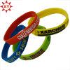 Bande de poignet faite sur commande de silicone de bracelet de silicone de sport