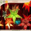 Estrella de papel colgante impresa venta caliente para el regalo 2016 de la Navidad