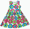 Heißes Sale Girl Dress in Fashion Children Clothing (SQD-117)
