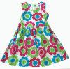 Robe chaude de fille de vente dans l'habillement d'enfants de mode (SQD-117)