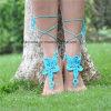 Haak de Blootvoetse Sokken van de Yoga van de Gift van het Huwelijk Sandals