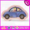 Il gioco mobile di legno di puzzle del giocattolo educativo 2015, mini automobile scherza il giocattolo di legno di puzzle del puzzle, il giocattolo di legno W14c178 di puzzle dell'automobile di alta qualità