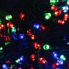 Het Licht van het Koord van de Fee van Kerstmis van de Zonne-energie