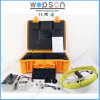 HD Waterproof Sewer Pipe Inspection Camera Pipe Inspection Camera avec 20m à 50m Fiber Glass Cable