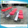 Im Freien Freestandinig Aluminiumzuschauertribünen/Aluminiumprüftisch mit Plastiksitzen