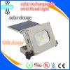 Lanterne rechargeable solaire comme côté de pouvoir avec l'USB