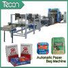 Saco automático del papel del cemento que hace la máquina