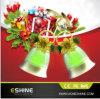 Van de LEIDENE van de Decoratie van Kerstmis van de Giften van het Festival van het Ornament van de partij de Lamp Vorm van de Klok