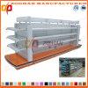 Mensola cosmetica personalizzata Manufactured del supermercato del metallo (Zhs235)