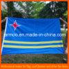 vlag van het Af:drukken van de Douane van 90X150cm de Blauwe