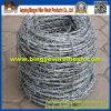 14 Lehre 25kg/Roll Electro Galvanized Stachel-Draht Price