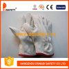 Белая перчатка Dld215 кожи с сохранённым природным лицом коровы