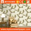 Papier de mur profondément gravé en relief intérieur de PVC de damassé pour la décoration à la maison
