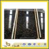 Countertop와 Floor Tiles를 위한 이탈리아 Portoro Black Marble Slab