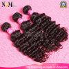 Человеческие волосы Remy перуанских глубоких волос волны Weft (QB-PVRH-DW)