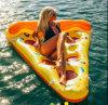 Fila flotante de la pizza inflable del precio de fábrica de Hogift