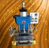 Automatische pneumatische lederne heiße Prägung/heiße stempelnde/Gravierfräsmaschine Folie (ZH-125)