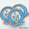 Garments를 위한 만화 Design High Standard Clothing Label Embroidery Patch