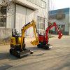 Pequeño excavador hecho en China