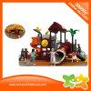 Espiral del parque de atracciones y diapositiva al aire libre interesantes del tubo para los cabritos