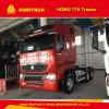 Renforcer le camion LHD de bâti et de suspension T7h HOWO 400HP Sinotruk 6X4