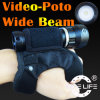 Het Duiken van Tonelife Tl2601V het Flitslicht duikt VideoLichten 1000lumens die Brede Straal aansteken 100 Graad